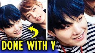 When BTS is done with V 