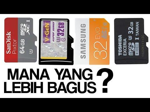 4 Memory Card Yang Bagus Dan Baik Untuk Gadget