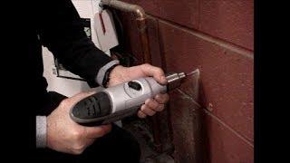 Masonry anchors tips for install, carbide bits on hammer drill