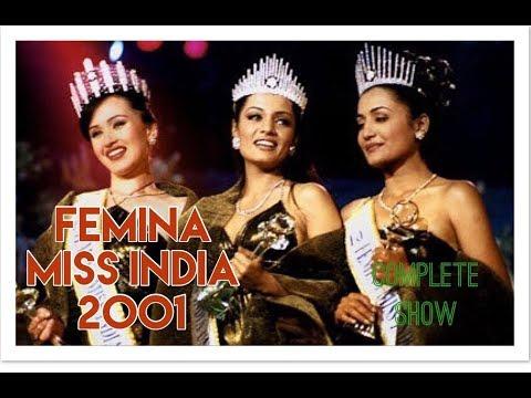 Femina Miss India 2001 - The Full Show