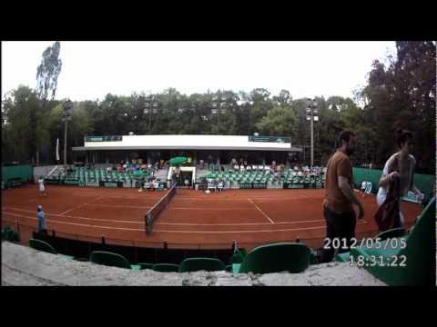 Lemiamas dvejetu musis Davis cup Bulgaria