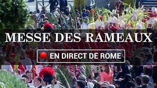 Bénédiction et messe des Rameaux à Rome