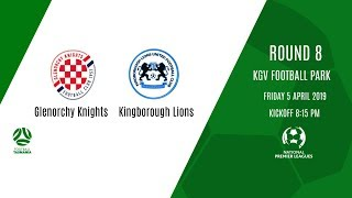 NPL Tasmania, Round 8 - Glenorchy Knights v Kingborough Lions