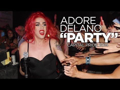Adore Delano Performs