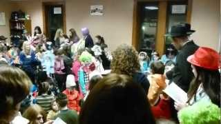 Mendel Jacobson reads Megillah for Purim 2012 Women & Kids Schul