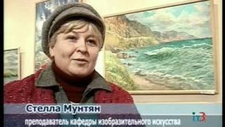 Открытие выставки художниц Е. Минаевой и Н. Хмелевской