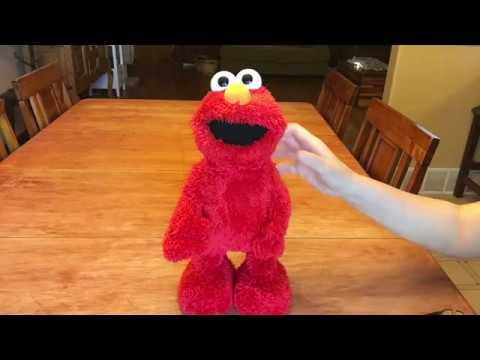 Tickle Me Elmo Without Fur TMX