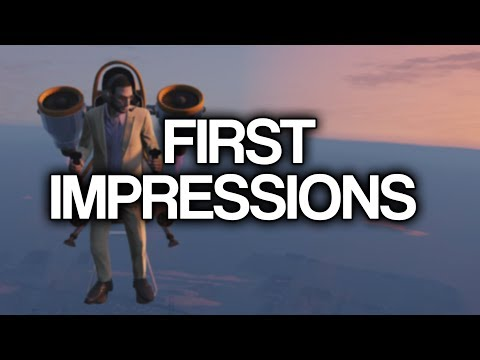 Thruster Jetpack First Impressions (GTA Online Doomsday Heist DLC)