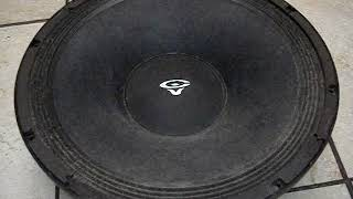 How work sound Cerwin Vega 15