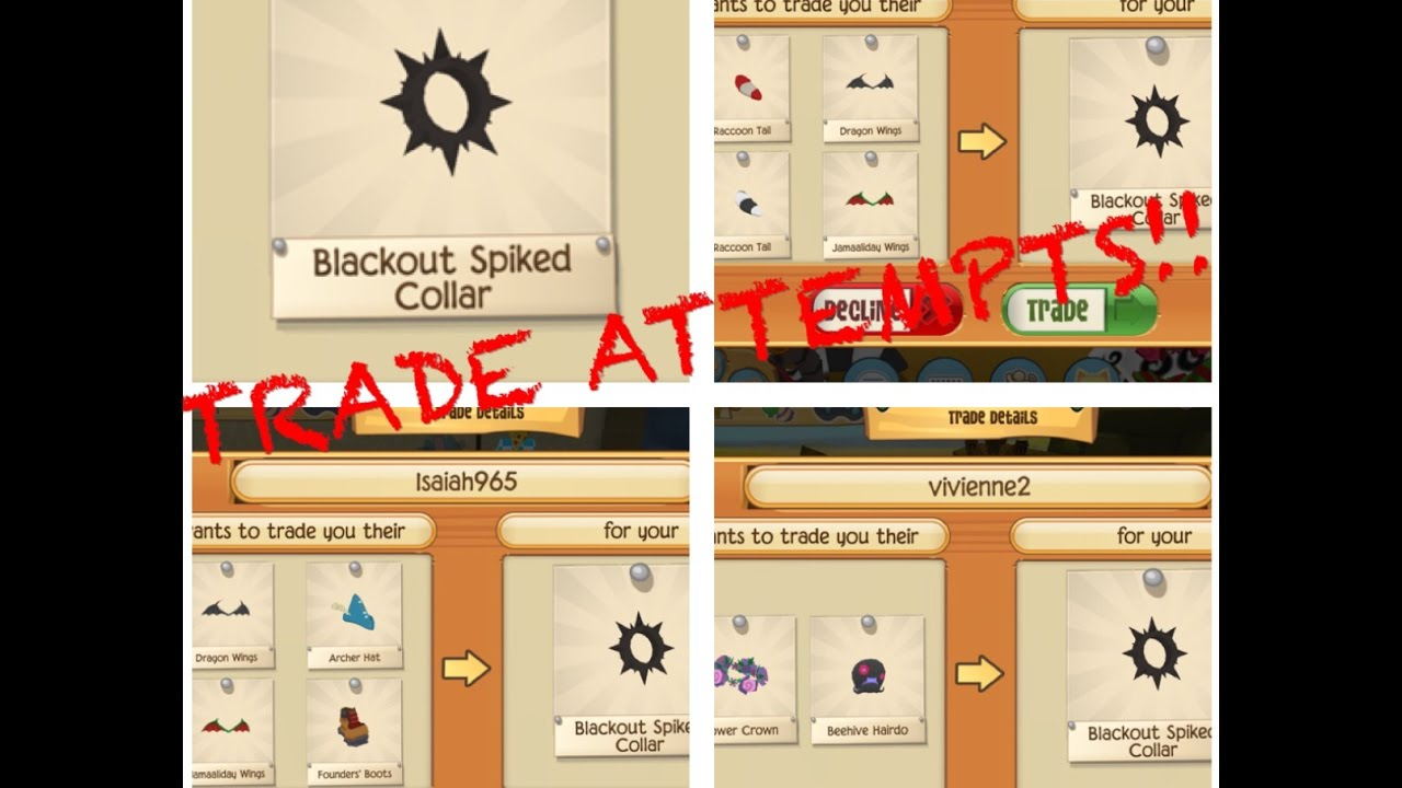 Blackout Spike Trade Attempts Animal Jam Play Wild, iSpy KYLE
