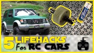 5 RC Car Lifehacks! (Lock diff; DIY drift tires; Battery test; etc.)      RC Showdown