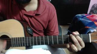 main yeshu ke noor mein saath chalungaguitar instructional video