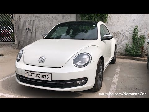 Volkswagen Beetle A5 2017 | Real-life review