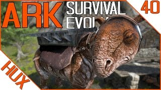 ARK Survival Evolved Gameplay - Paraceratherium | Carryable and Throwable Dimorphodon