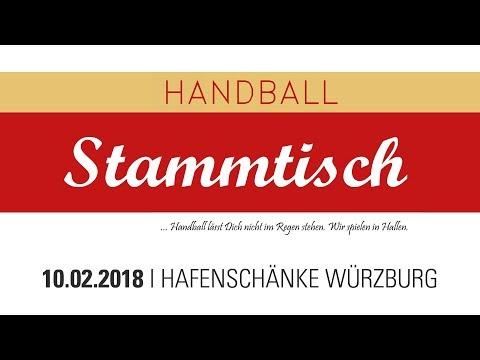 4. Handball-Stammtisch am 10.02.2018 in der Hafenschänke Würzburg