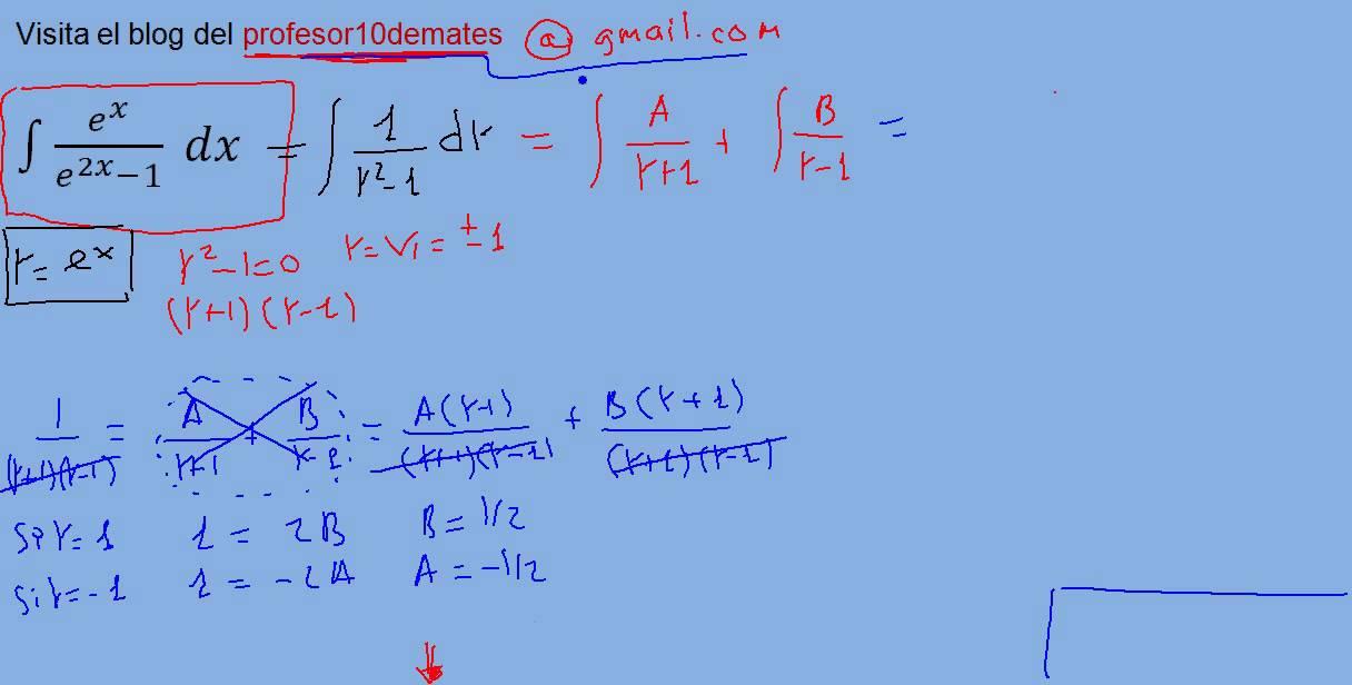 ejercicios de integrales impropias pdf