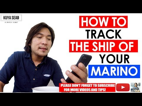 How to track vessel online