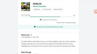 Updating roblox and playing roblox