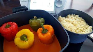 Gefüllte Paprika mit Reis | Thermomix® TM5 / TM6