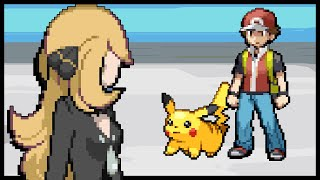 If Cynthia Challenged Red (Animated)
