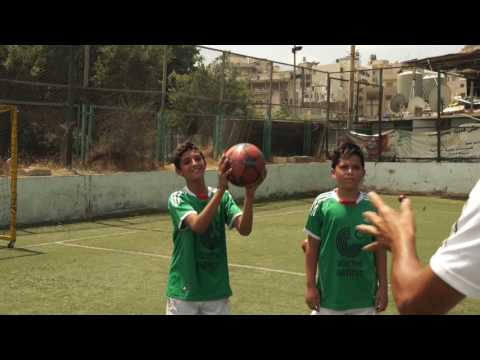 Soccer Camp Lebanon 2016 - Training week 1 in Parc, Beirut
