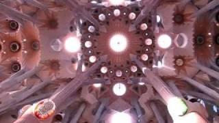 Собор Святого семейства архитектор Гауди Барселона(Внутри собора 13 ноября 2010., 2011-01-18T15:31:22.000Z)