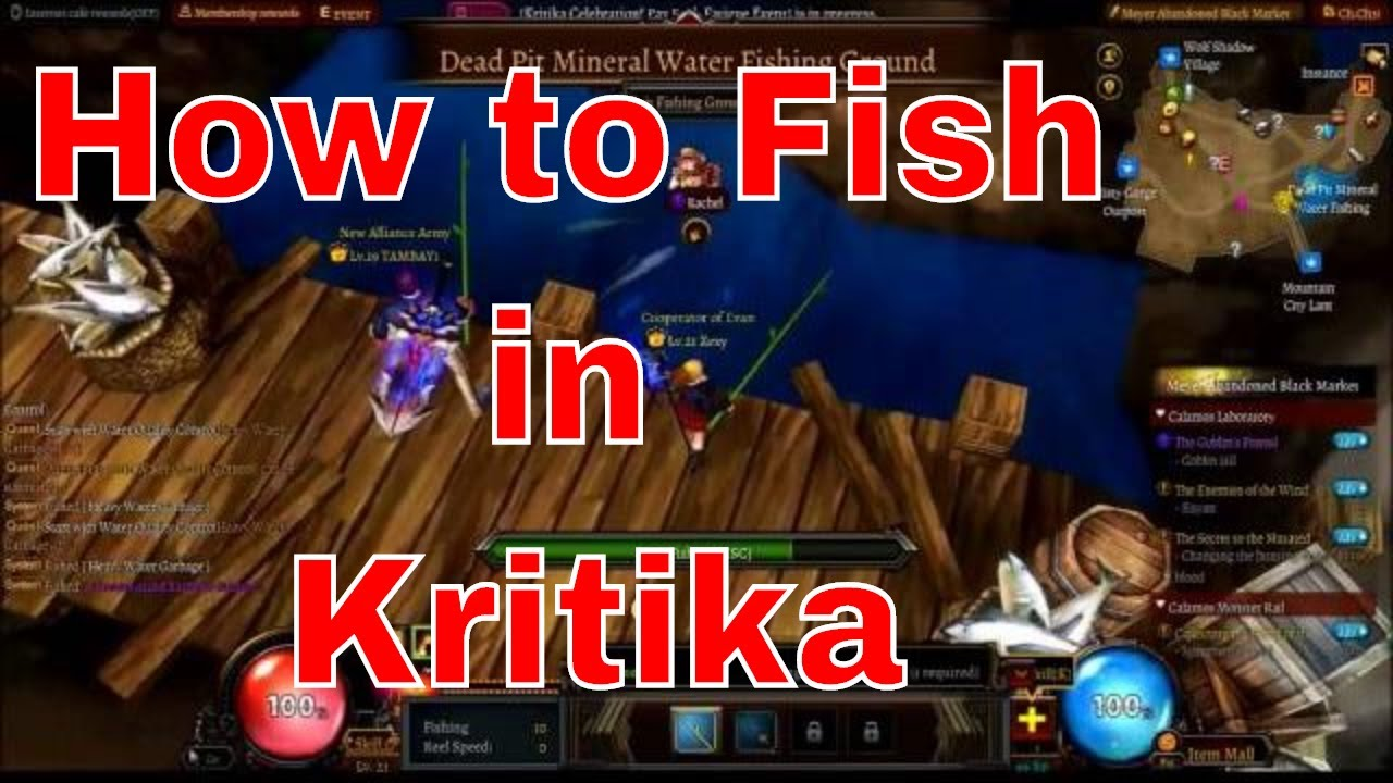 How To Get Ethereal Weapons Kritika By Kingsley Amis How To Fish In Kritika  (sea