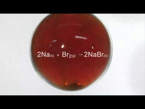 Reaction Of Bromine With Sodium