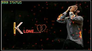 Kannada new trending love breakup whatsapp status bgm ringtone telugu
