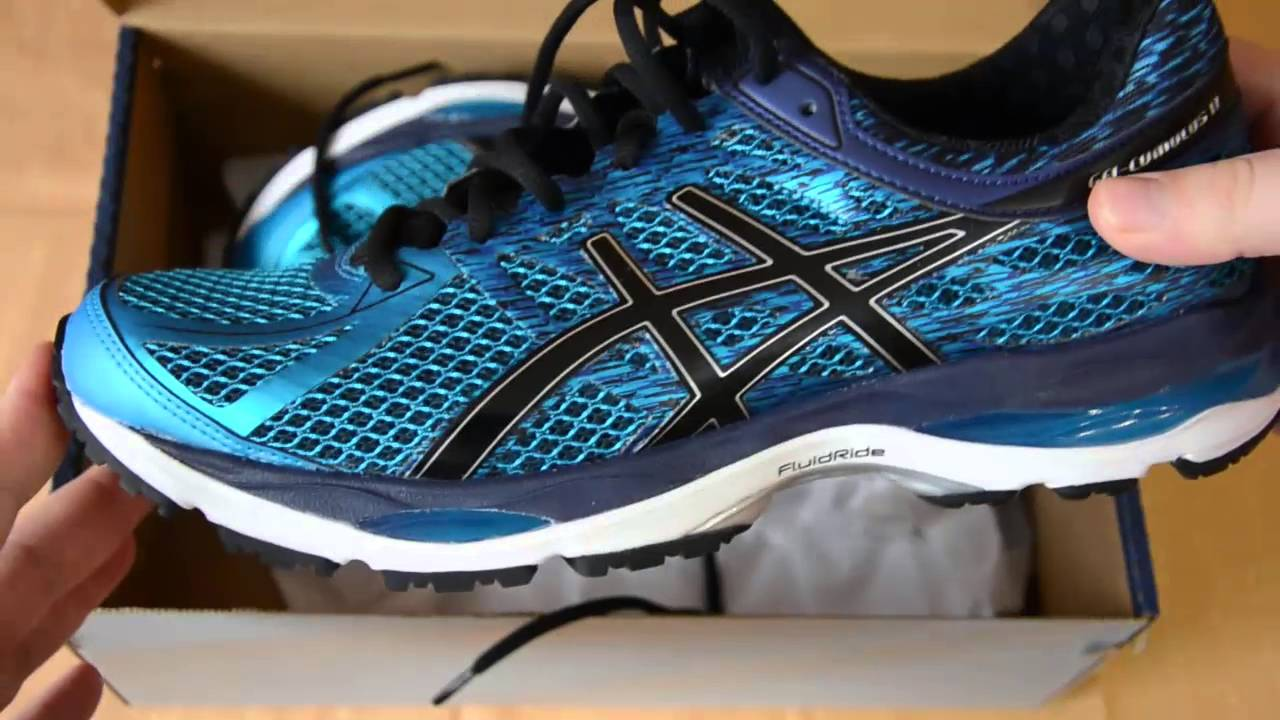 52ce1a6e3f4 Asics Gel Cumulus 17 review (eng) - YouTube