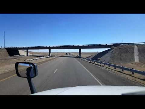Bigrigtravels Live! - Colby to Salina, Kansas - Interstate 70 - February 20, 2017