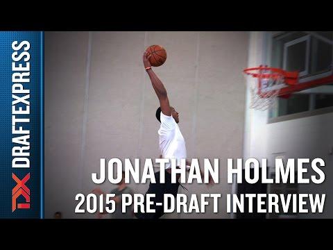 Jonathan Holmes 2015 NBA Draft Workout Video - DraftExpress