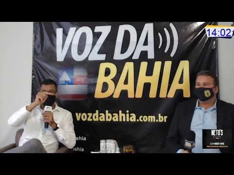 Meio-Dia e Meia Live hoje Pré-candidato em Laje-Ba. Dr. Edílson Magalhães