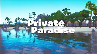 *custom* MINI ISLAND CODE! Private Paradise | Fortnite: Creative