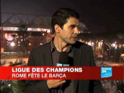 Ligue des Champions: Rome fête le Barça