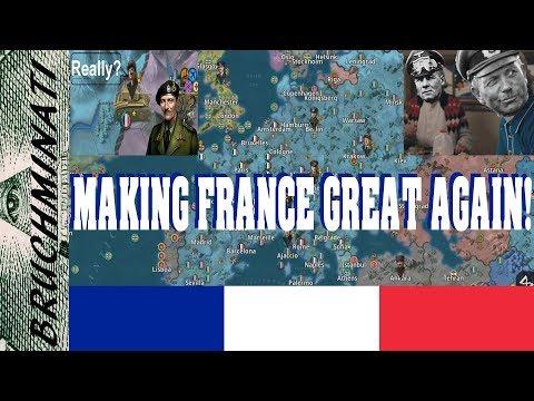 World Conqueror 4 | France 1939 (NO GENERALS) #3; The New French Empire!