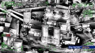 FLIR Star SAFIRE® 380-HDc Compact EO/IR IMAGING SYSTEM over Paris, France