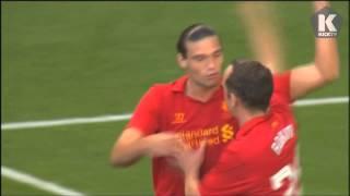 Carroll goal vs Bayer Leverkusen