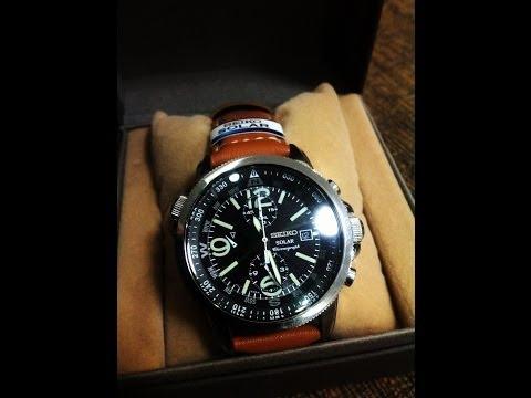 Watchestokyo Review ครั้งที่ 2 นาฬิกา Seiko Solar SSC081 Function การทำงาน