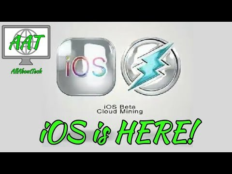 Electroneum on iOS is HERE Beta  Cloud Mining Approved Miner Payout Changed