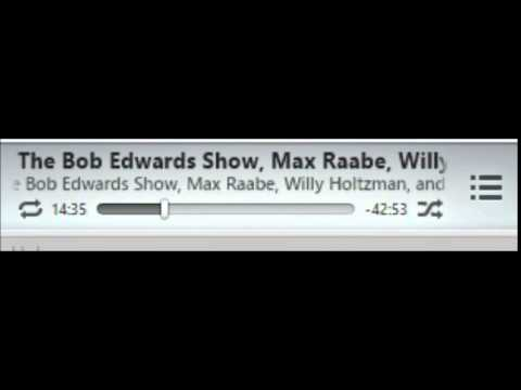 "[English] Max Raabe Radio Interview ""The Bob Edwards Show"""