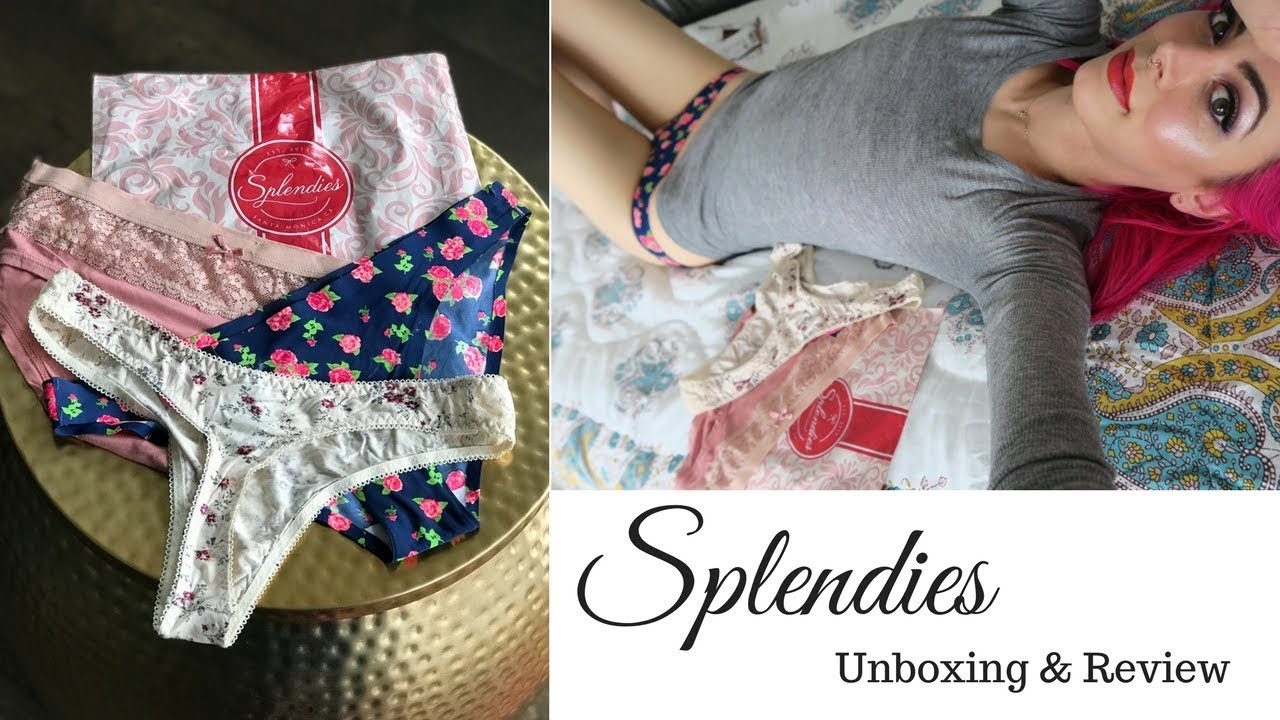 3f348692f1834 Splendies Unboxing - Underwear Subscription Service - YouTube