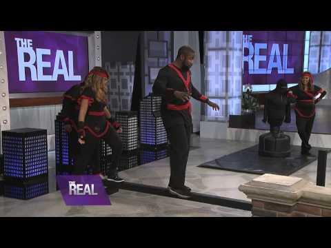 Michael Jai White Shows Off His Ninja Skills