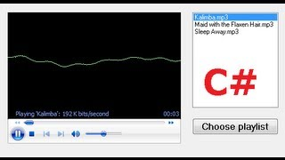 C# Tutorial 38: MP3 Media Player in C#