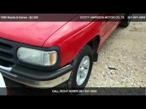 1996 mazda b series se for sale in houston tx 77038 for Scott harrison motors houston tx