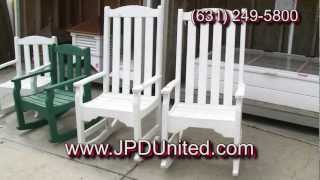 Video 32 - Wooden Adirondack Furniture (group 2) For Sale -- Jpd United -- Wooden Outdoor Furniture