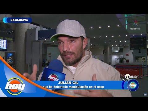 Julián Gil asegura que hay mano negra en la sentencia en su contra | Hoy