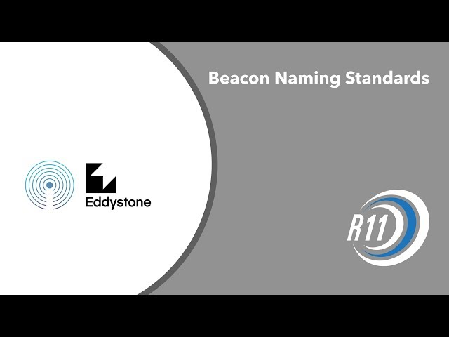 Beacon Naming Standards – Revolution11 Blog