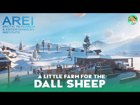 Dall Sheep Habitat Research Farm -  Planet Zoo Arctic DLC Speed Build |