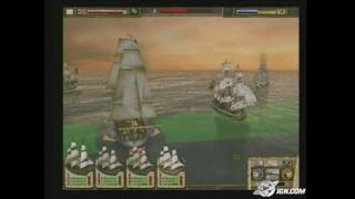 Imperial Glory PC Games Gameplay - The naval battle